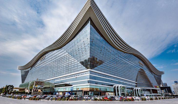 bangunan contoh seni 3 dimensi