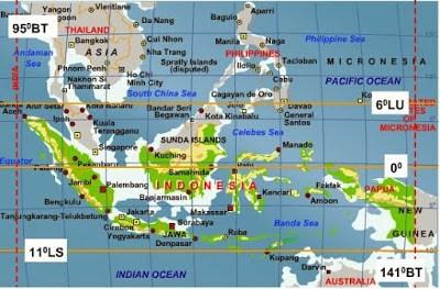 angka letak astronomis indonesia