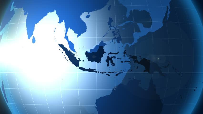 penyebab letak geografis indonesia
