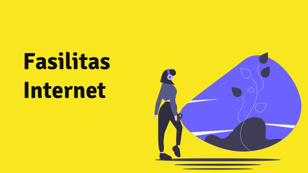 fasilitas internet