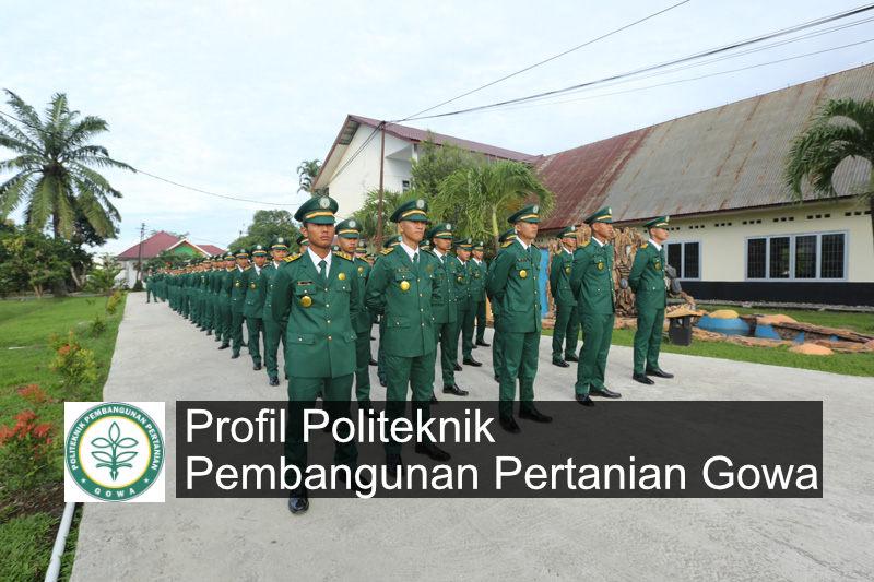 profil politeknik pembangunan pertanian kampus gowa