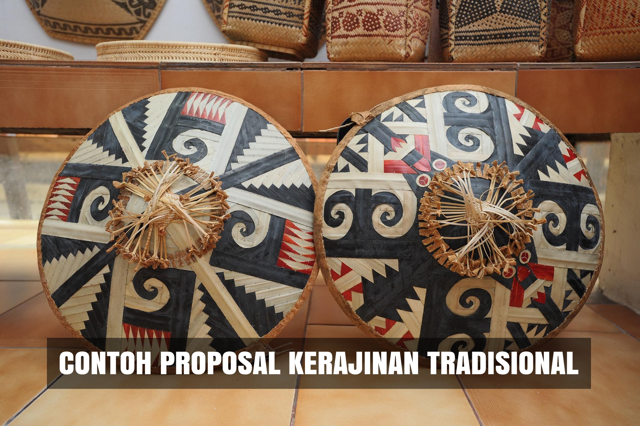 artikel contoh proposal kerajinan tradisional