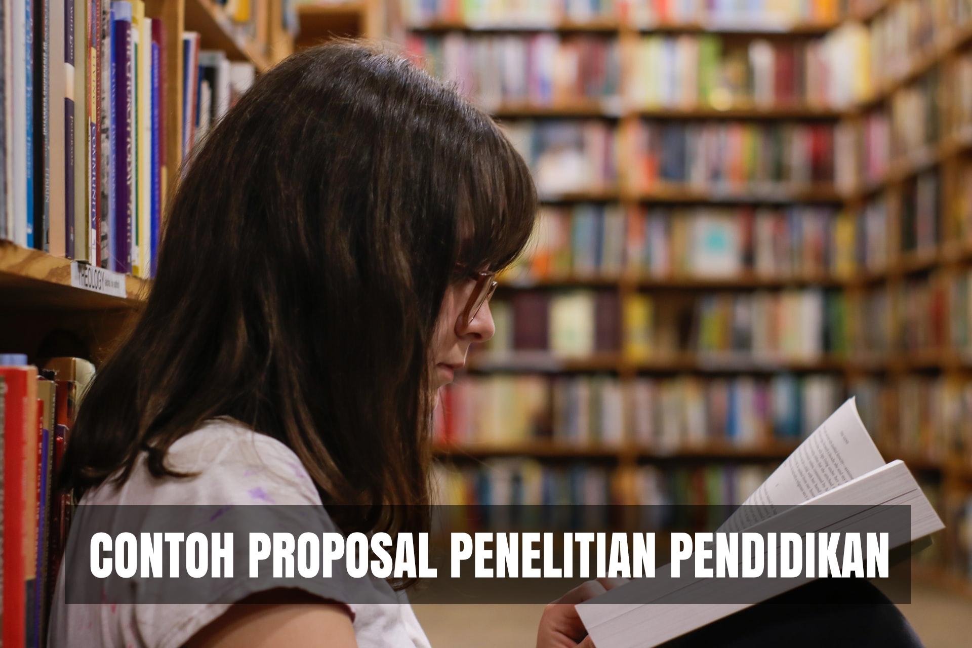 Download Contoh Proposal Penelitian Pendidikan Word Pdf