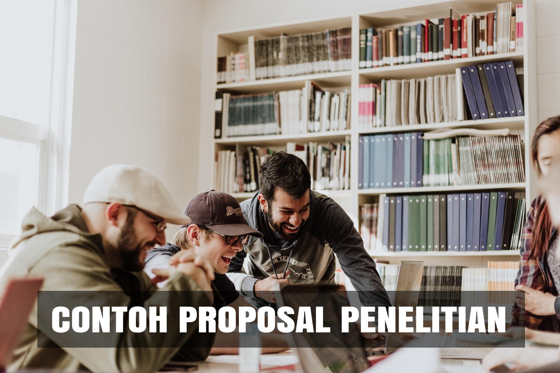 Download 8 Contoh Proposal Penelitian Word Pdf