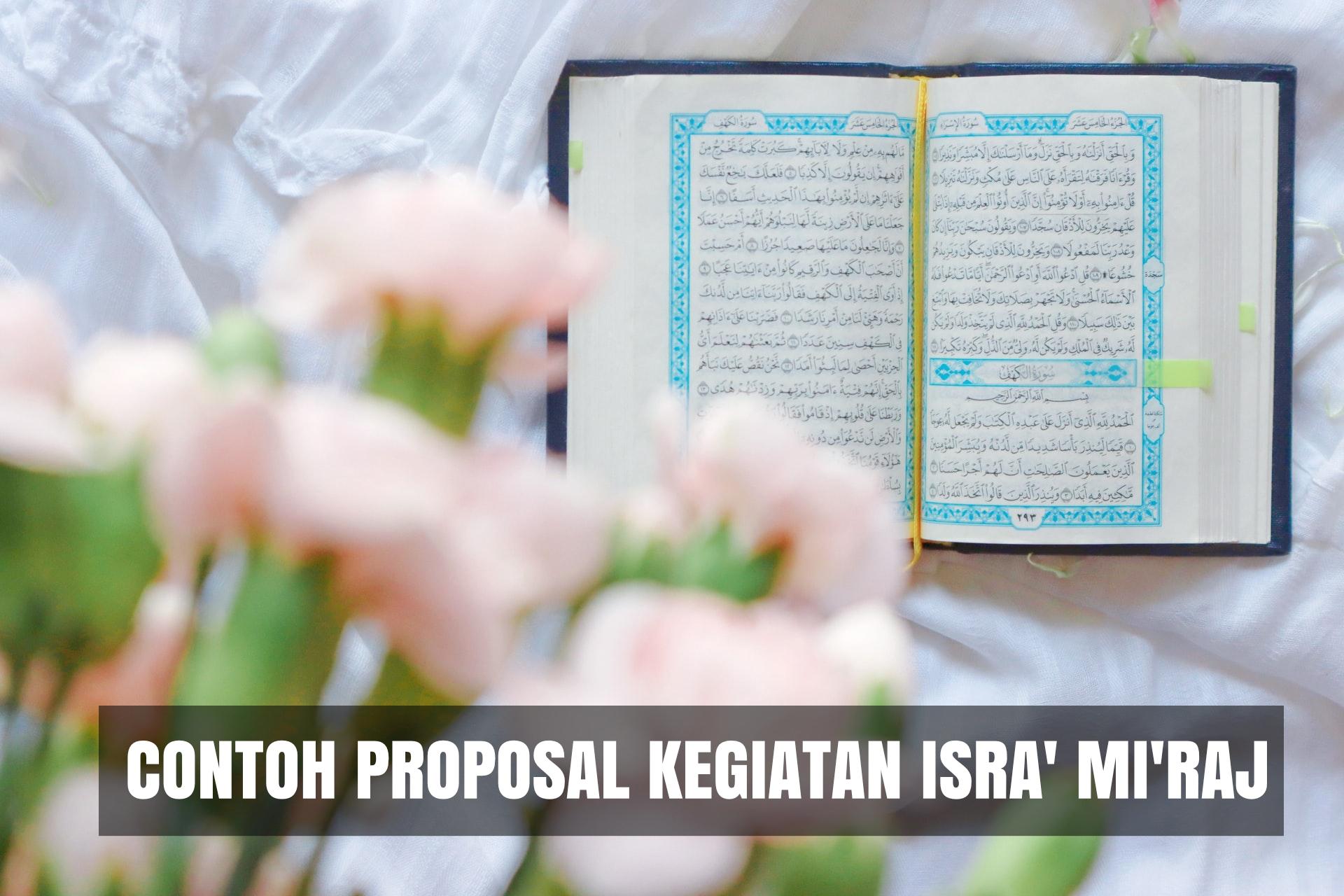 contoh proposal kegiatan isra miraj