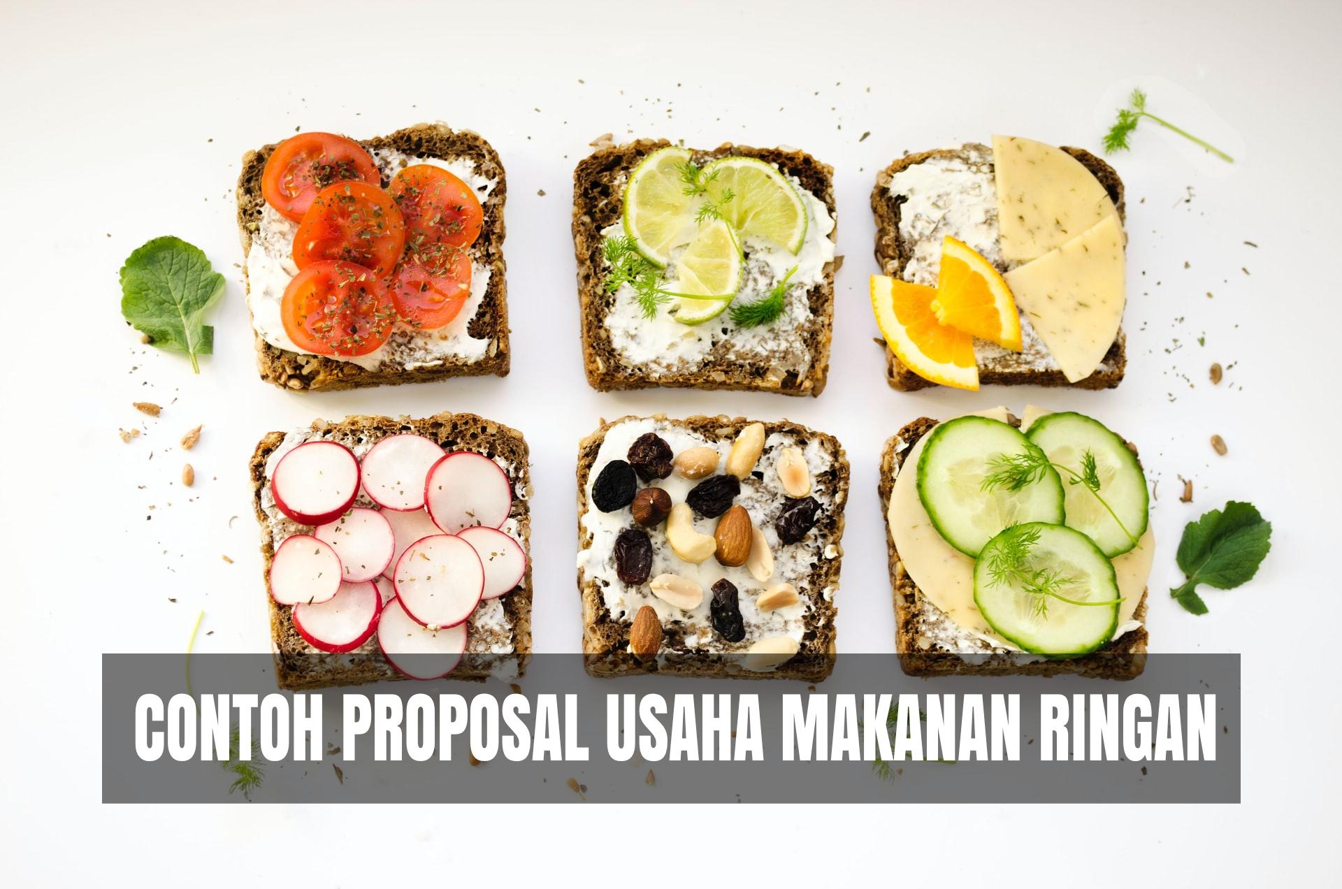 Contoh Proposal Usaha Makanan Ringan