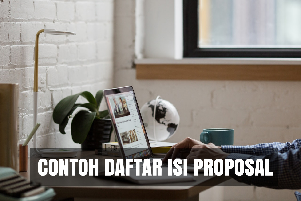 contoh daftar isi proposal