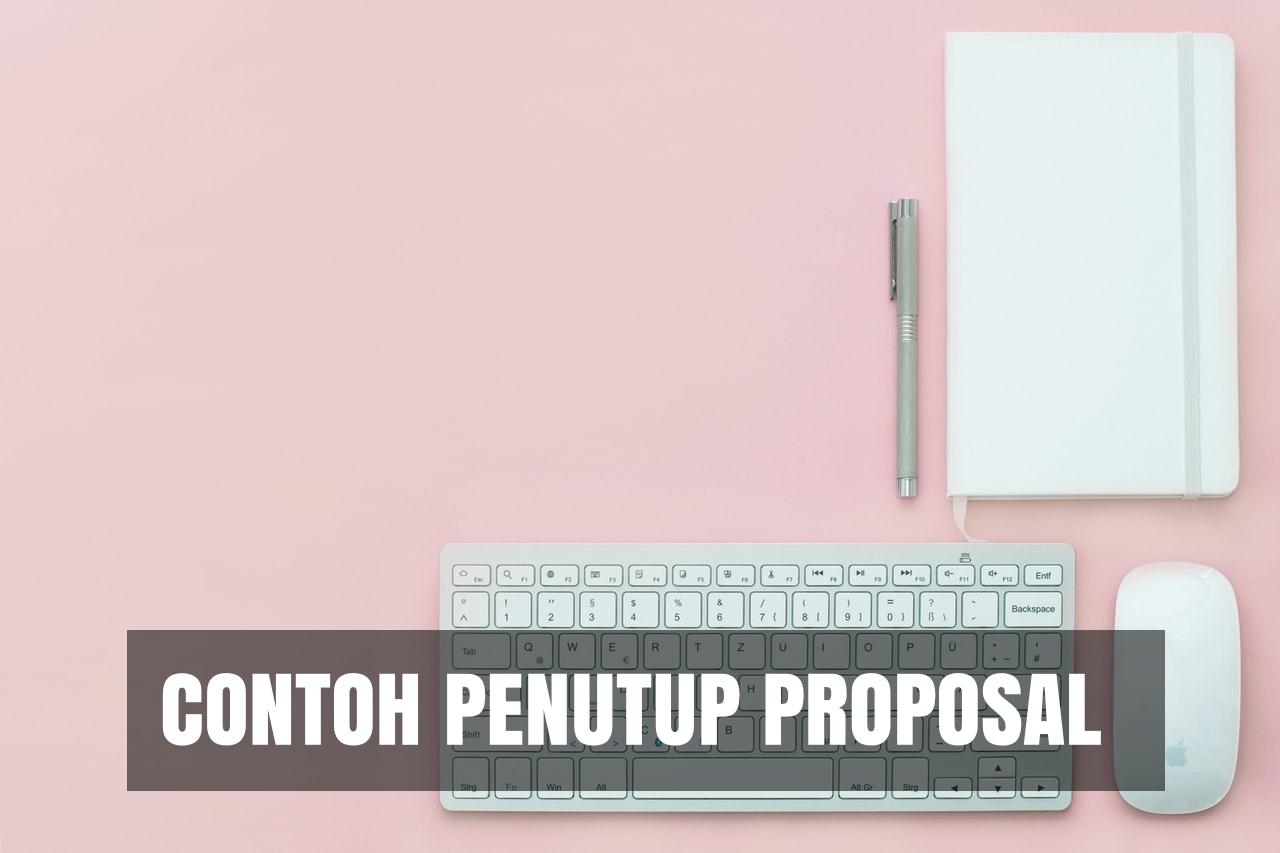 contoh penutup proposal